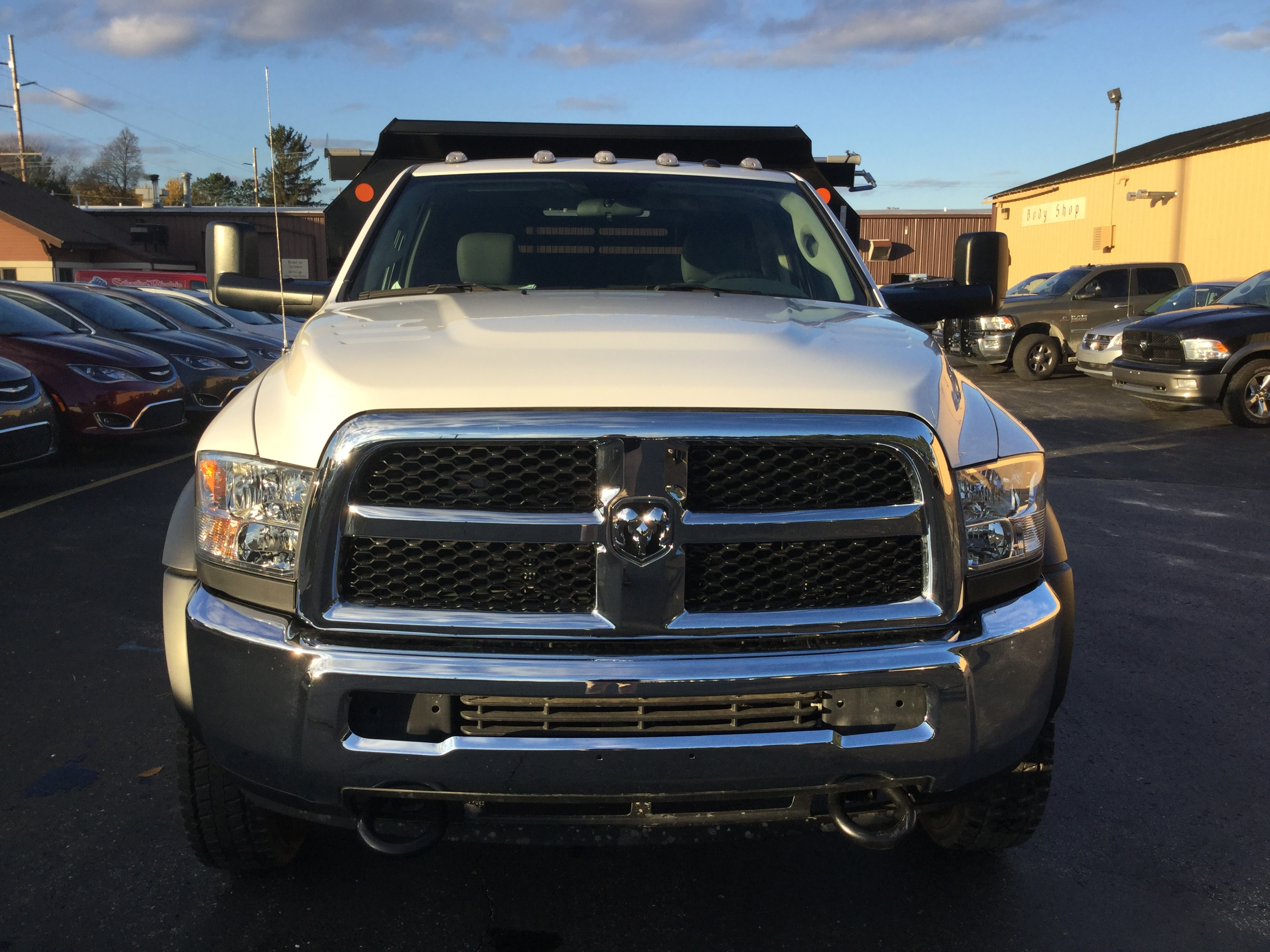 2017 Ram 5500 Regular Cab DRW 4x4, Monroe Dump Body #171535 - photo 4