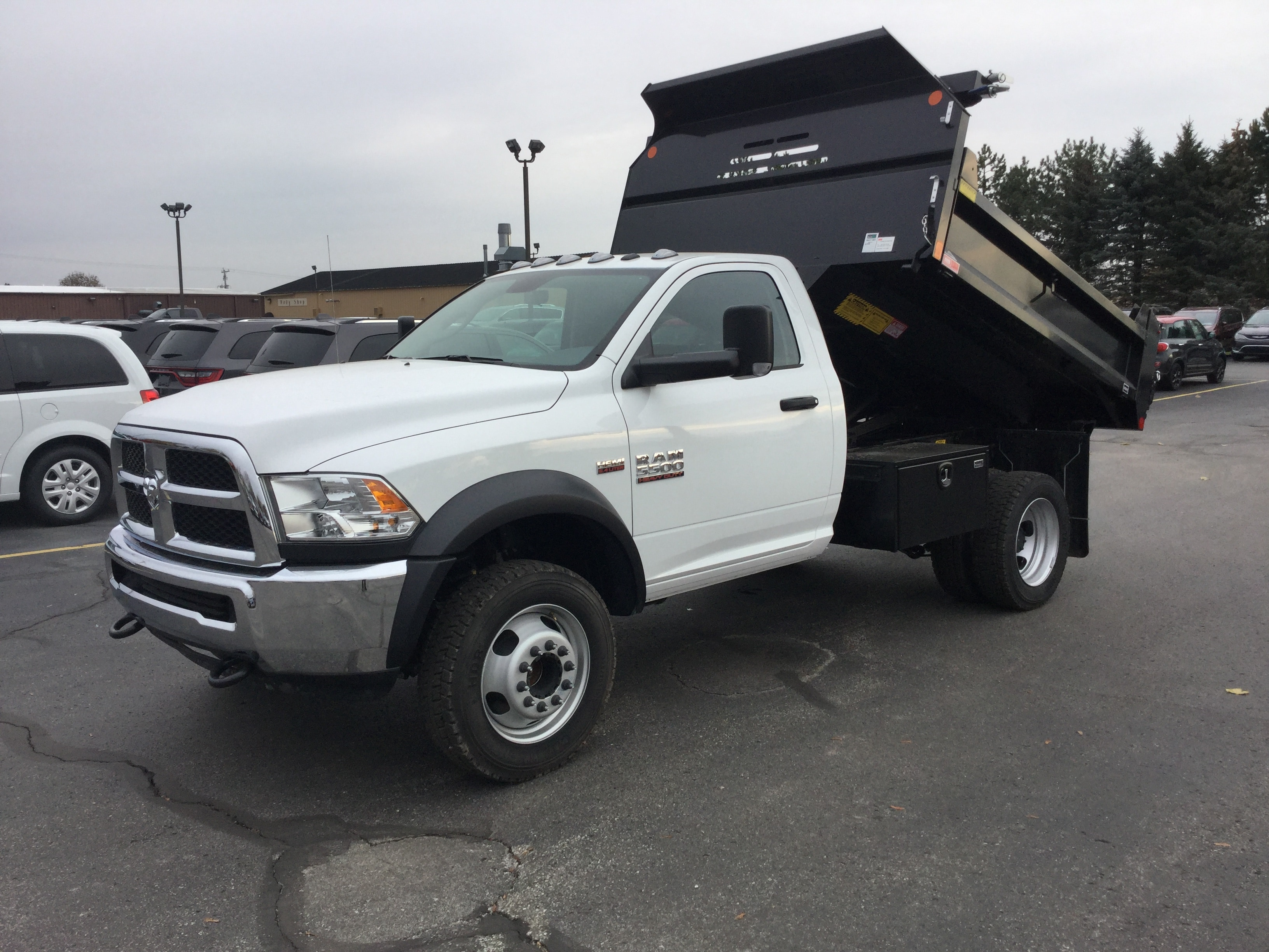 2017 Ram 5500 Regular Cab DRW 4x4, Monroe Dump Body #171535 - photo 9