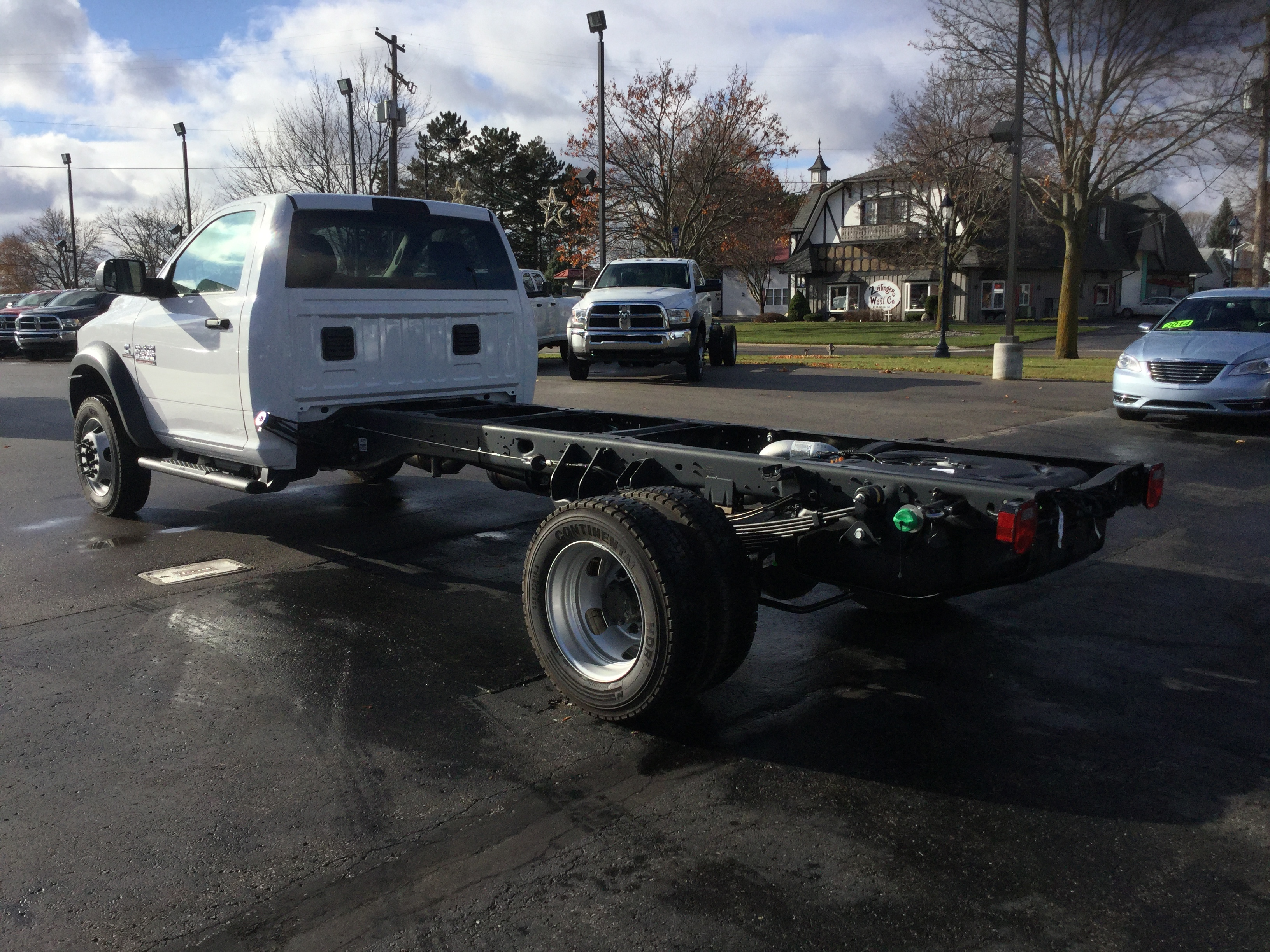 2017 Ram 5500 Regular Cab DRW 4x4, Cab Chassis #17162 - photo 2