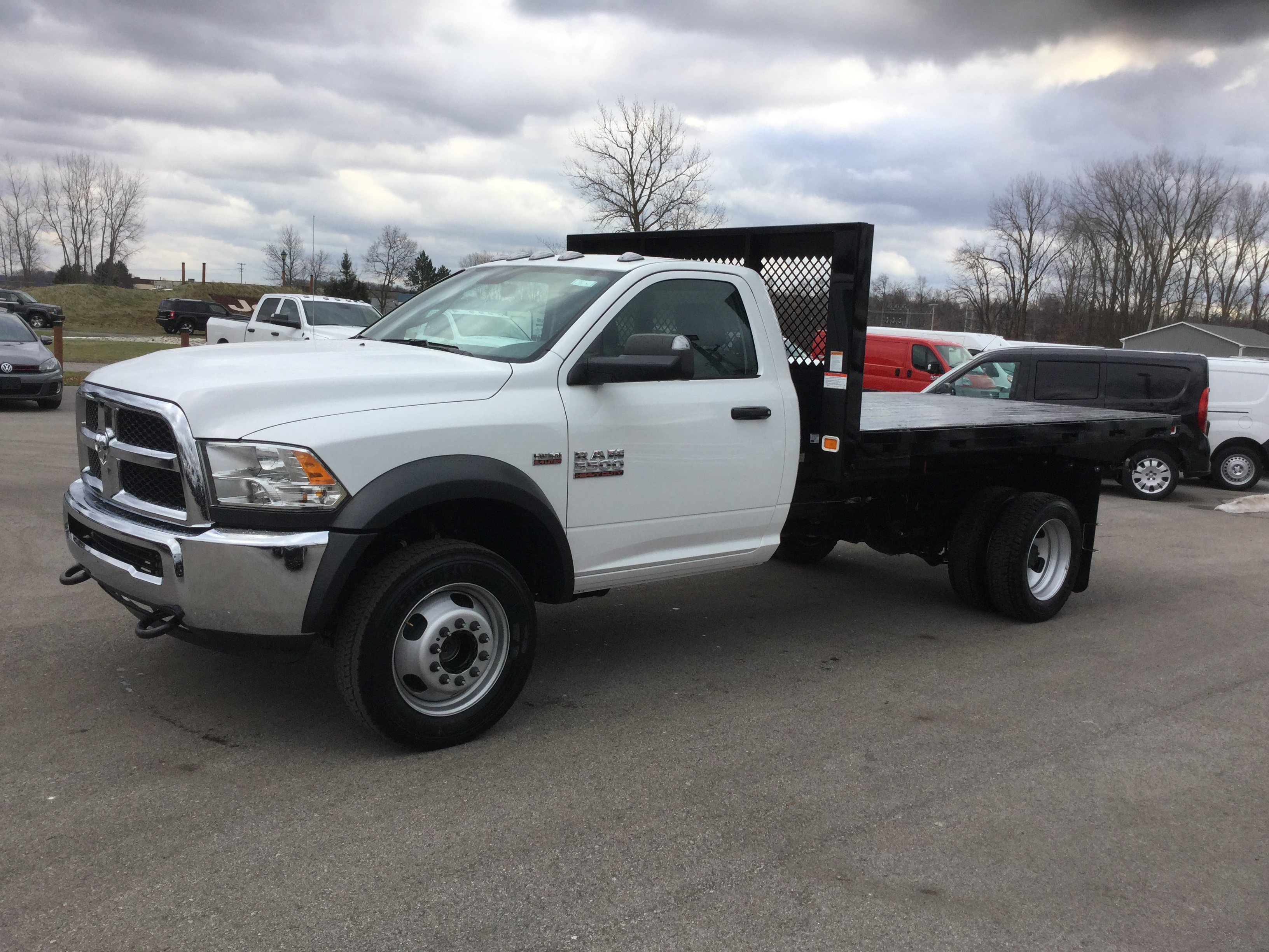 2017 Ram 5500 Regular Cab DRW 4x4, Knapheide Platform Body #17235 - photo 3