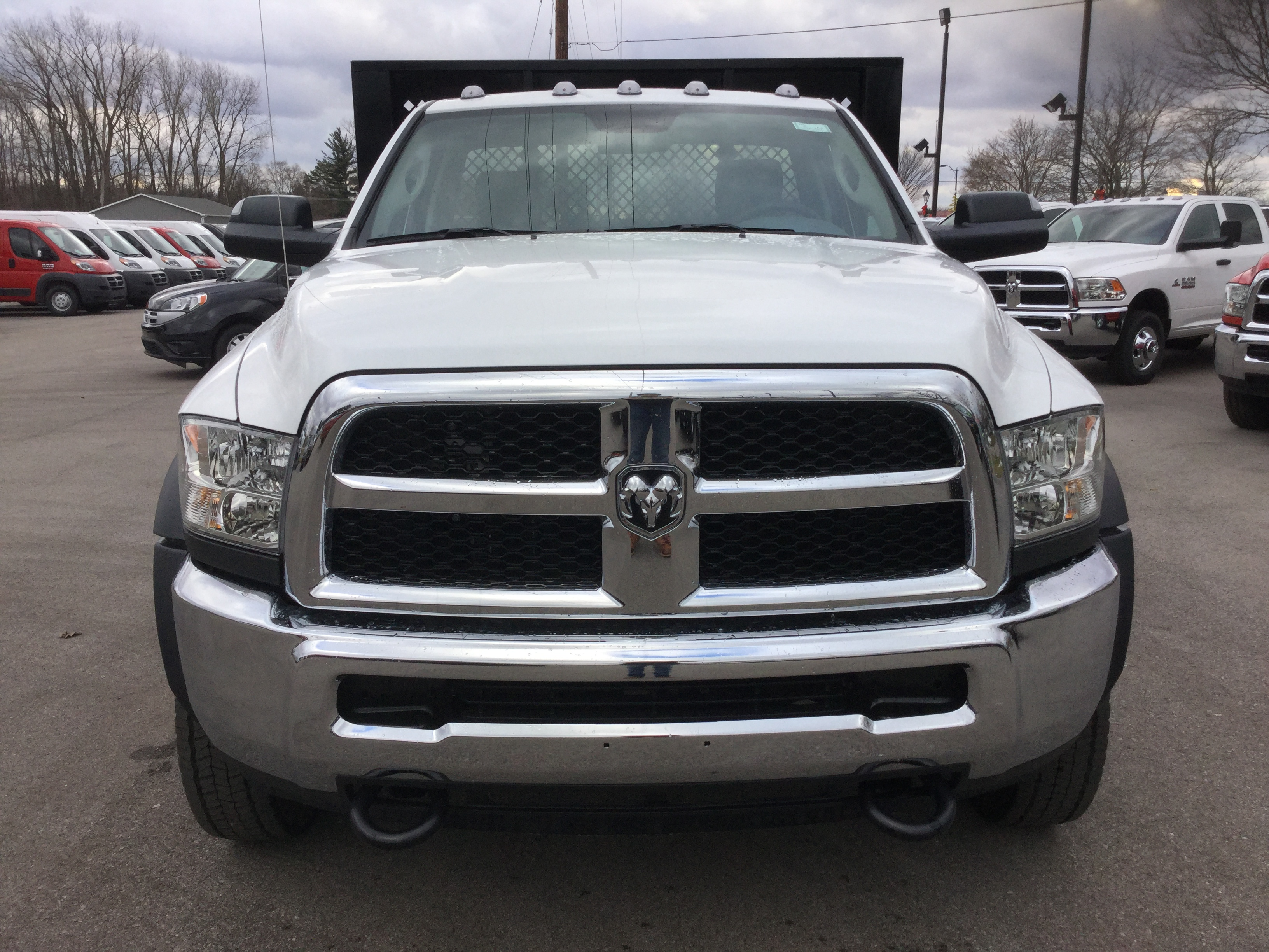 2017 Ram 5500 Regular Cab DRW 4x4, Knapheide Platform Body #17235 - photo 5