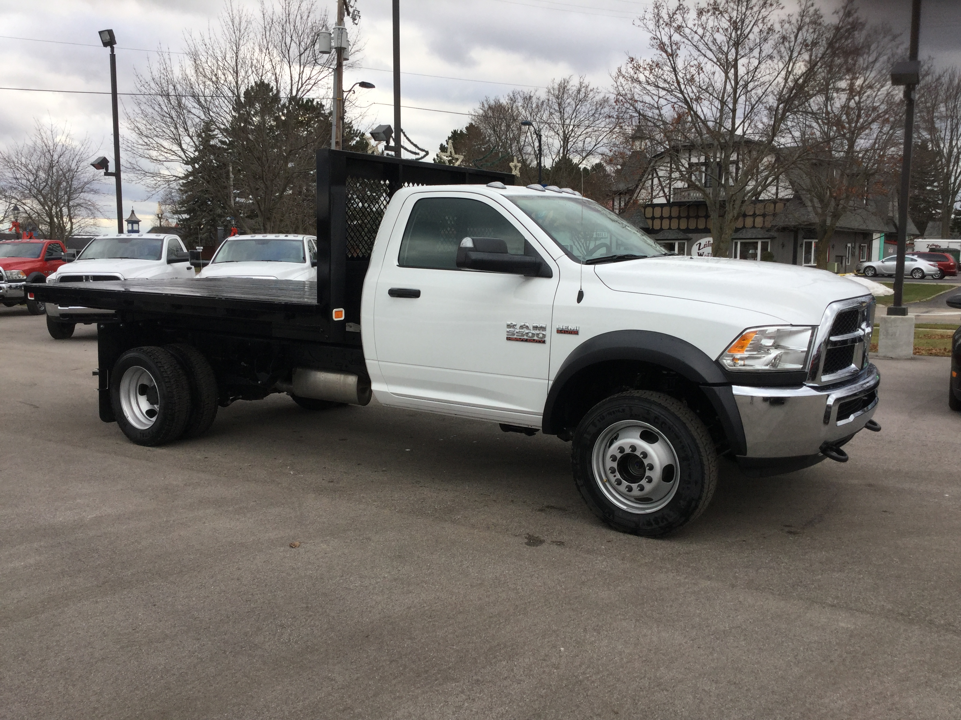 2017 Ram 5500 Regular Cab DRW 4x4, Knapheide Platform Body #17235 - photo 6
