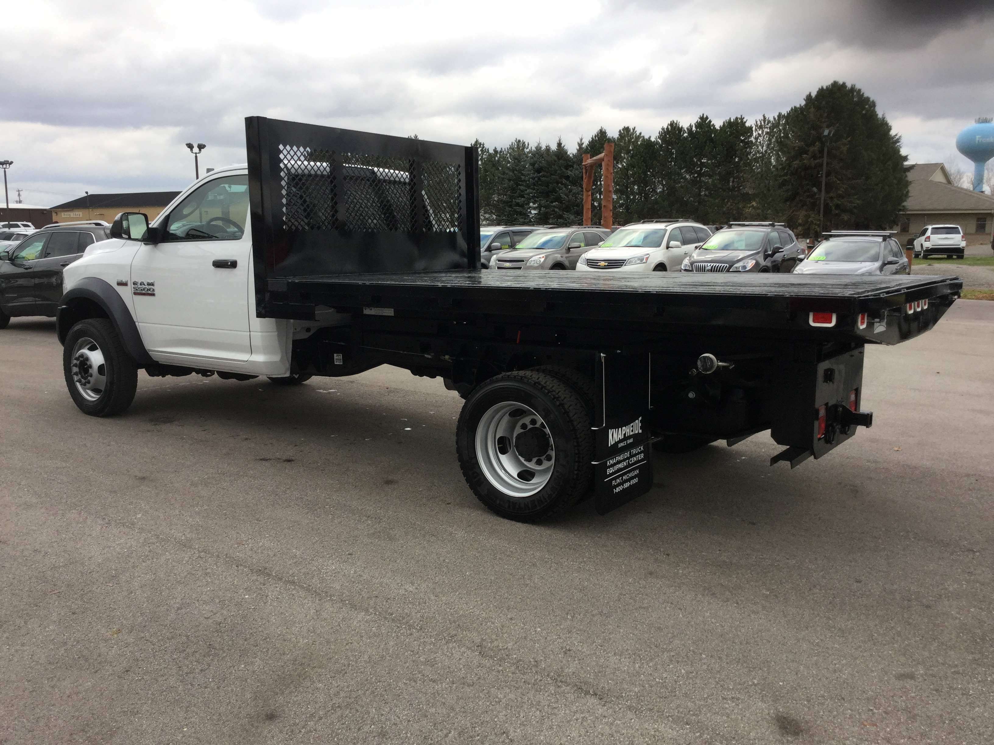 2017 Ram 5500 Regular Cab DRW 4x4, Knapheide Platform Body #17235 - photo 2