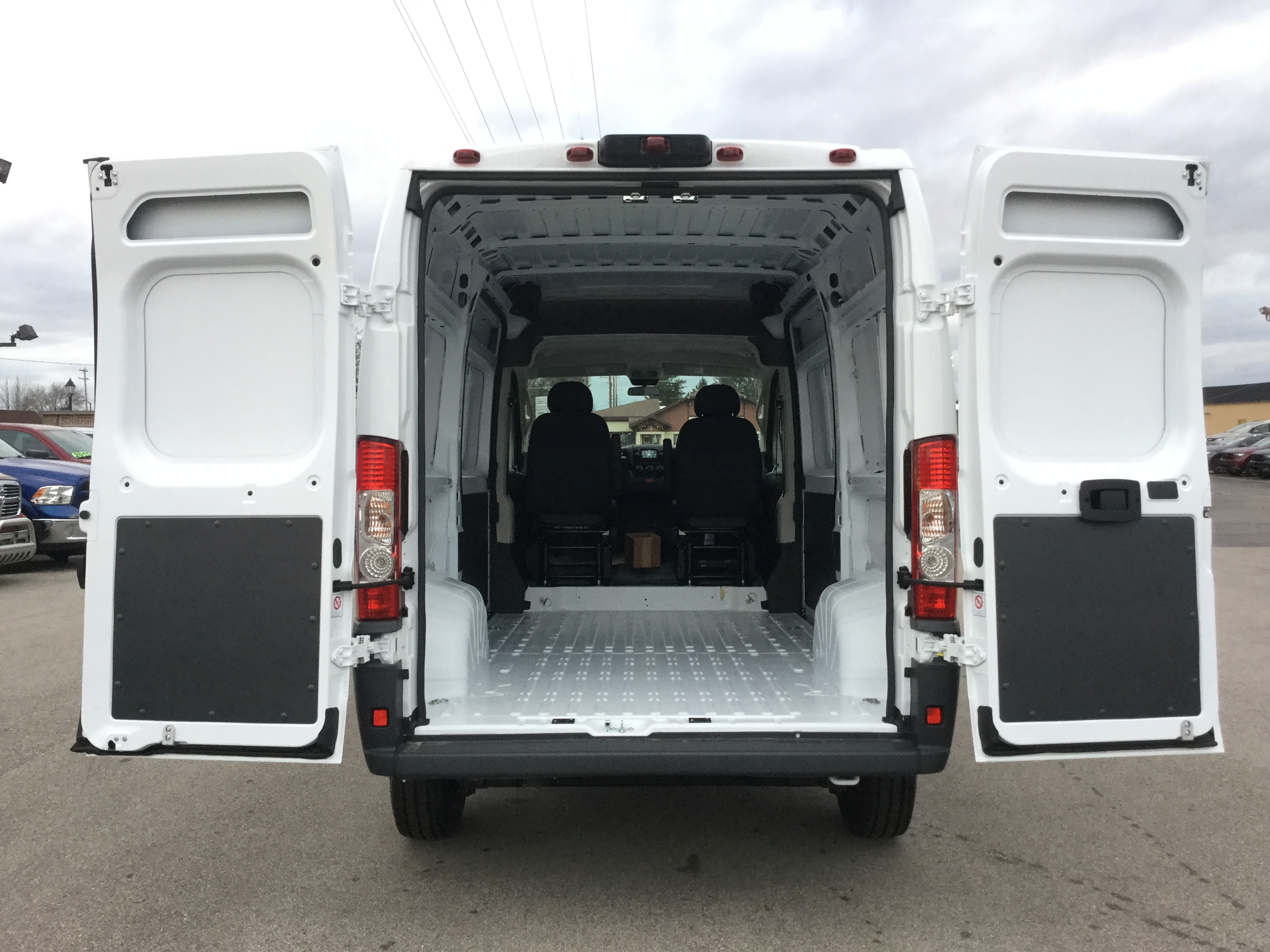 2018 ProMaster 1500 High Roof FWD,  Empty Cargo Van #18096 - photo 2