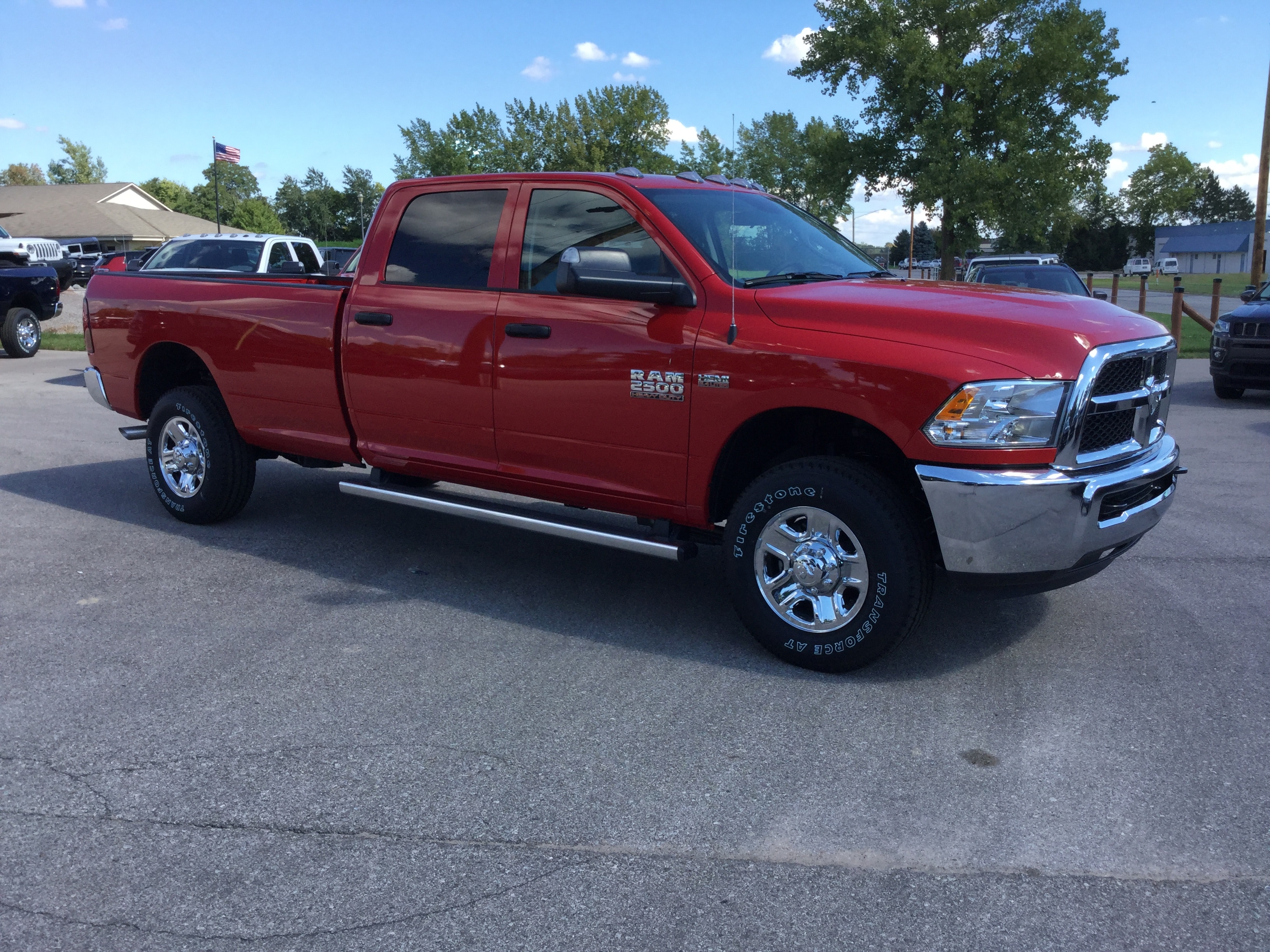2018 Ram 2500 Crew Cab 4x4,  Pickup #181040 - photo 4