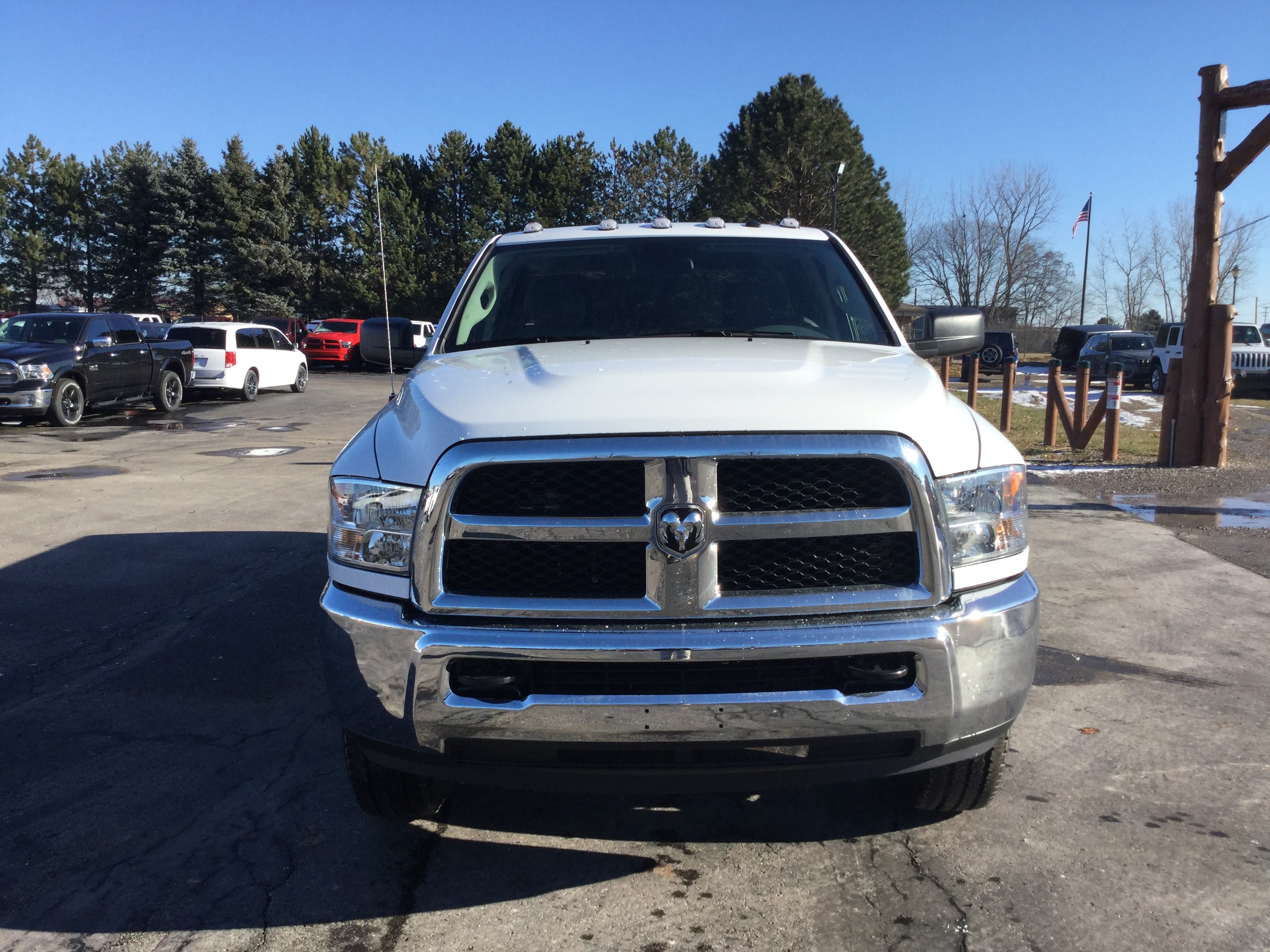 2018 Ram 2500 Crew Cab 4x4,  Pickup #181222 - photo 3