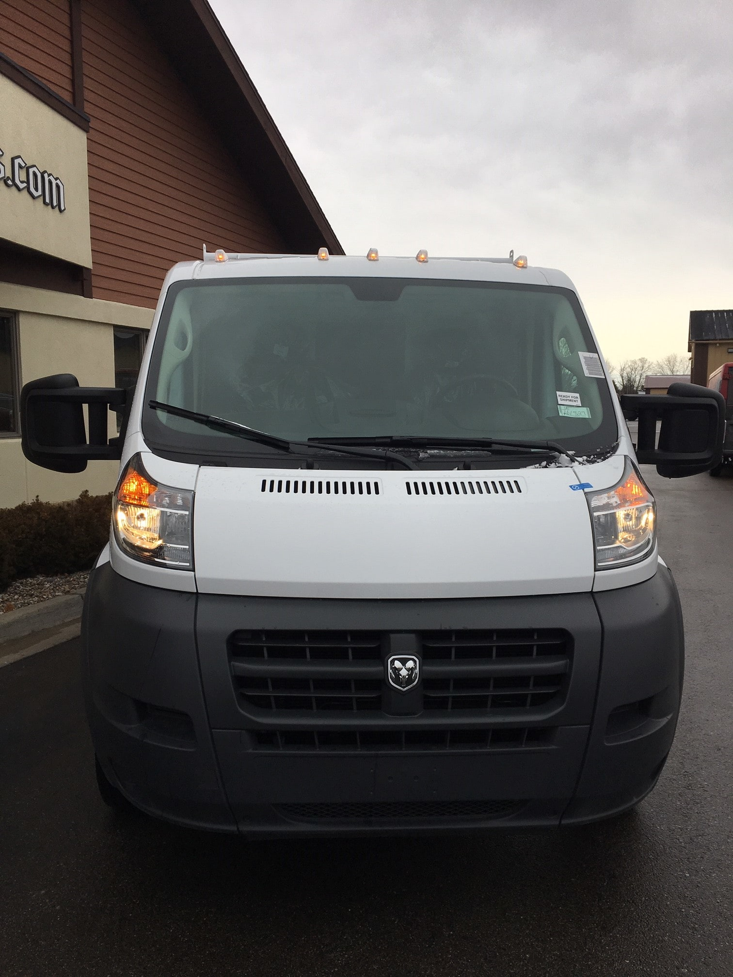 2018 ProMaster 3500 Standard Roof FWD,  Reading Service Utility Van #181258 - photo 3