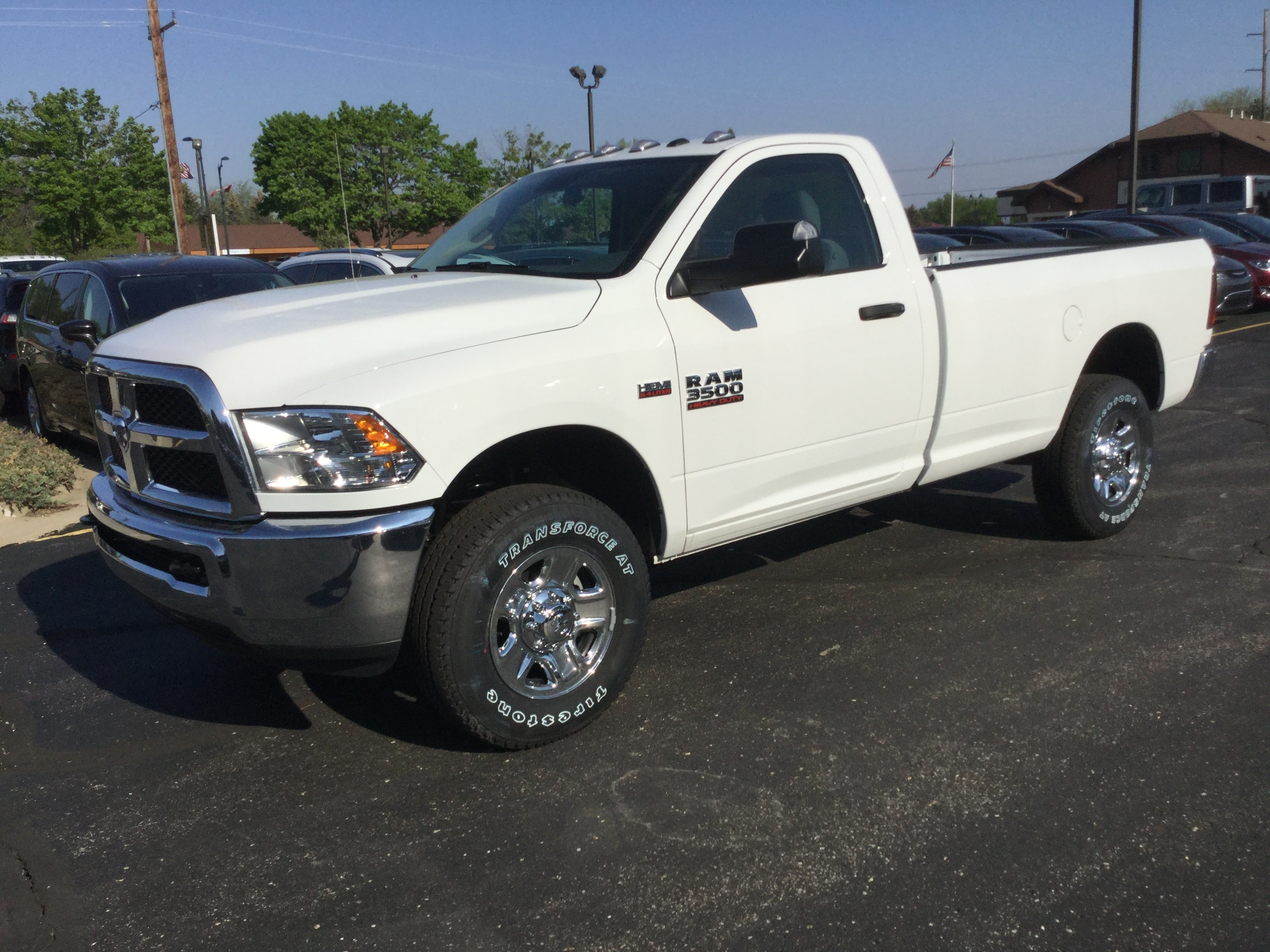 2018 Ram 3500 Regular Cab 4x4, Pickup #18595 - photo 1