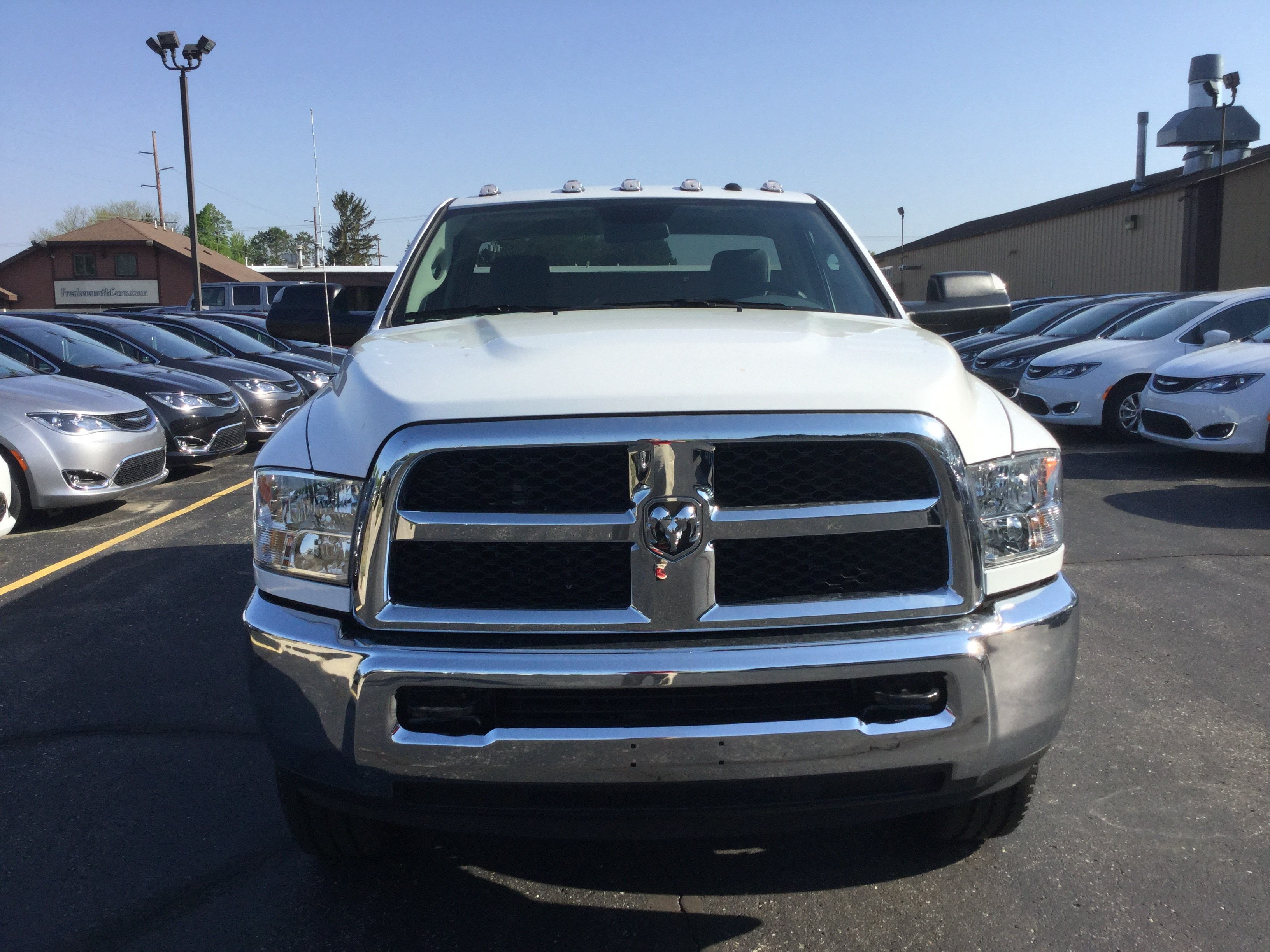 2018 Ram 3500 Regular Cab 4x4, Pickup #18595 - photo 3