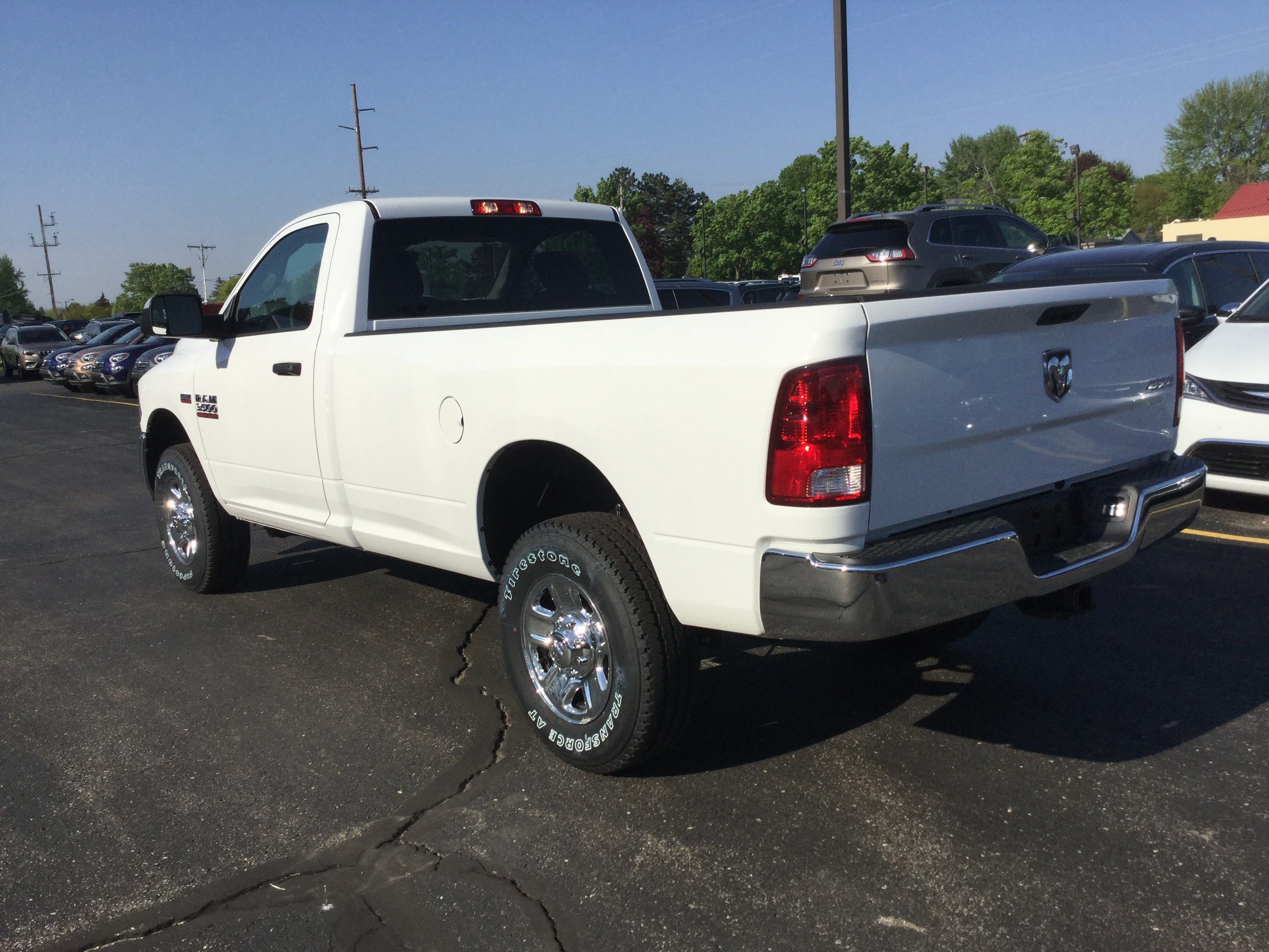 2018 Ram 3500 Regular Cab 4x4, Pickup #18595 - photo 2