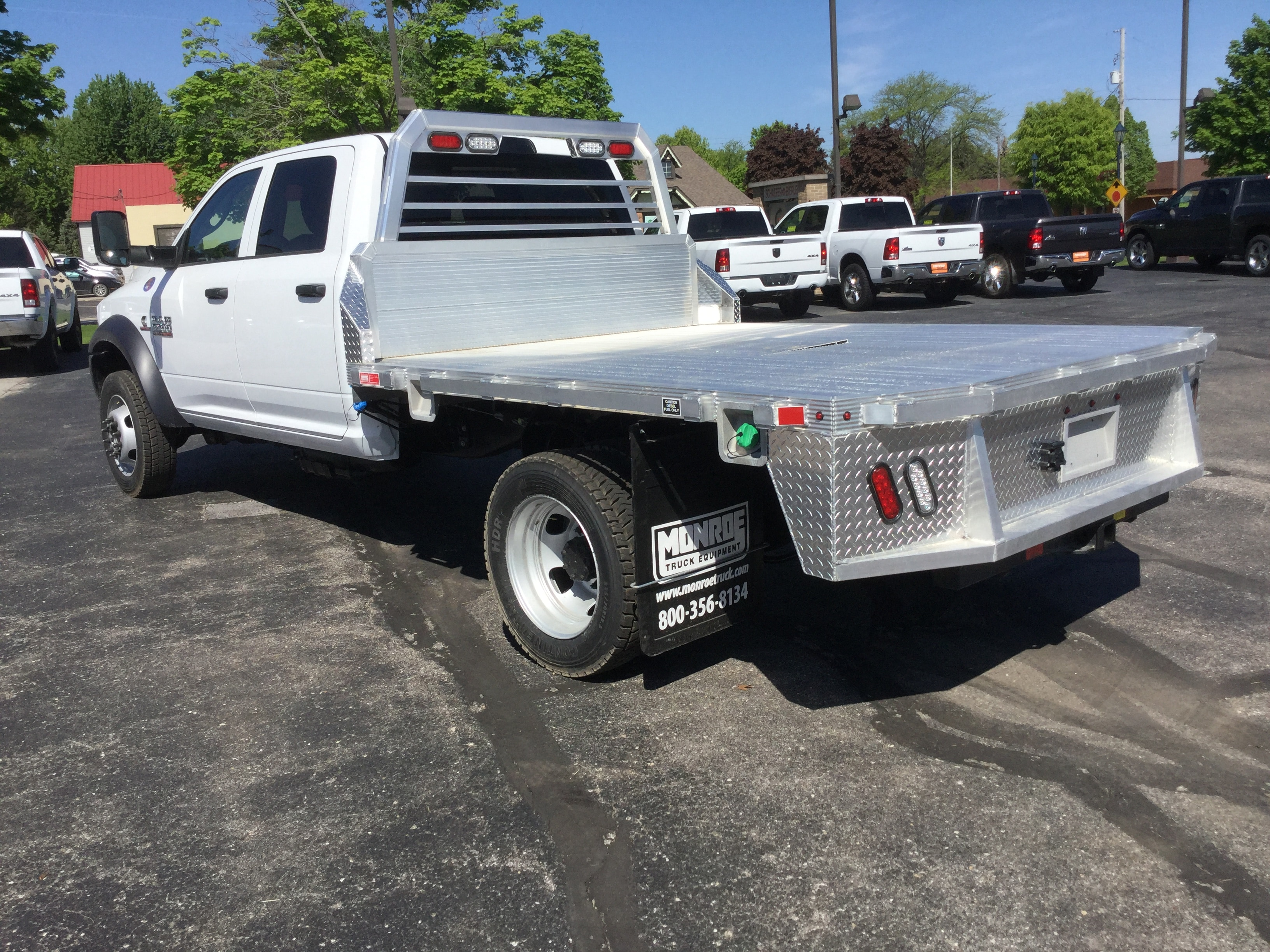 2018 Ram 5500 Crew Cab DRW 4x4,  Monroe Tow 'N Haul Platform Body #18806 - photo 2