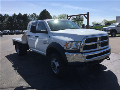 2018 Ram 5500 Crew Cab DRW 4x4,  Monroe Platform Body #18806 - photo 3