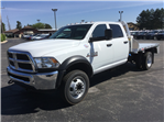 2018 Ram 5500 Crew Cab DRW 4x4,  Monroe Platform Body #18806 - photo 1