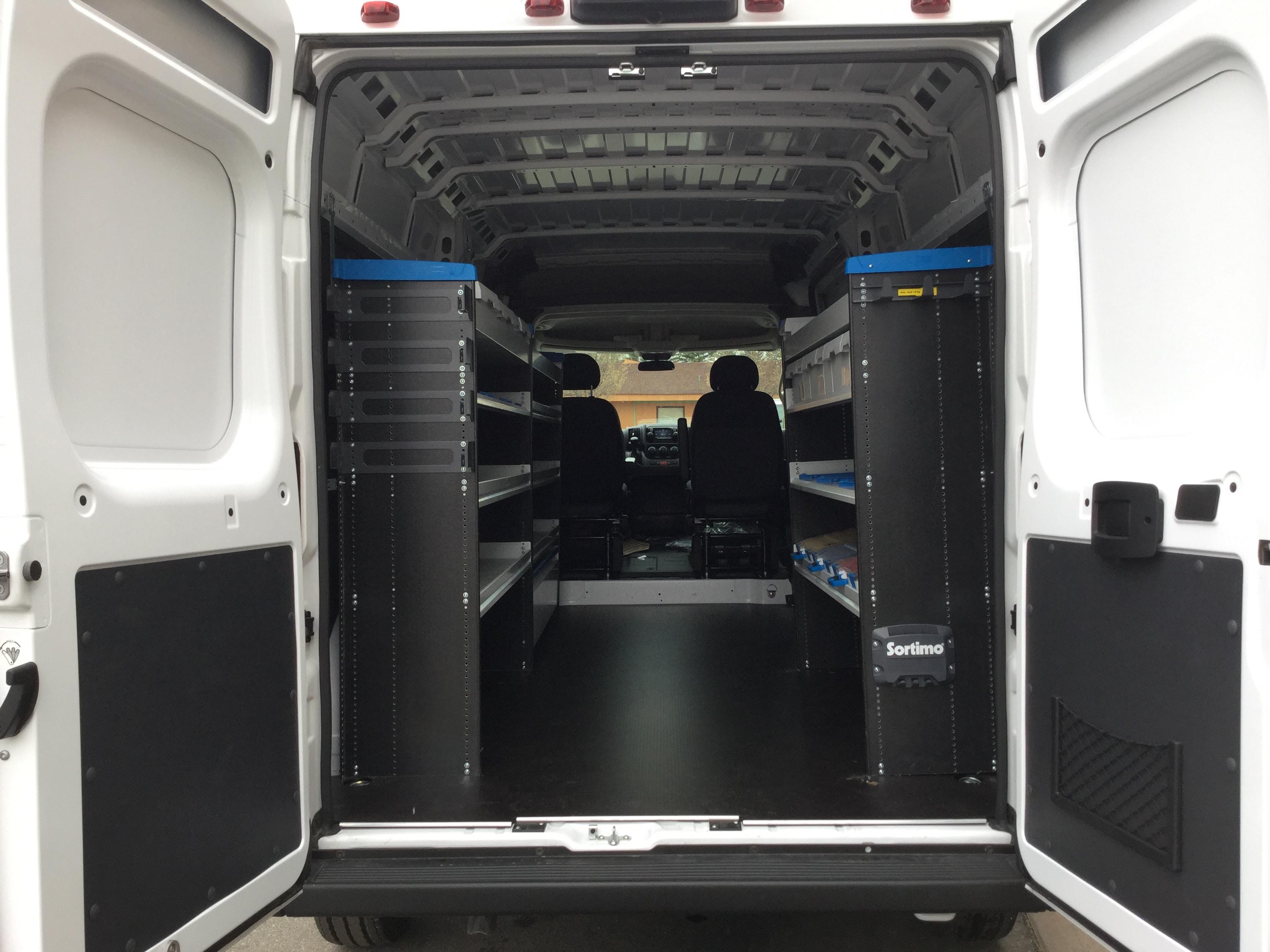 2019 Ram ProMaster 2500 High Roof FWD, Sortimo Upfitted Cargo Van #19616 - photo 1