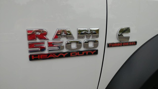 2018 Ram 5500 Crew Cab DRW 4x4,  Hillsboro Platform Body #R11011 - photo 8