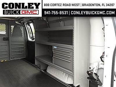 2019 Savana 2500 4x2,  Adrian Steel Commercial Shelving Upfitted Cargo Van #GK211275 - photo 8
