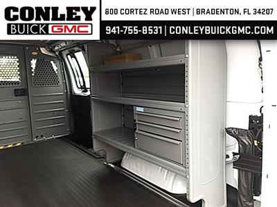 2019 Savana 2500 4x2,  Adrian Steel Commercial Shelving Upfitted Cargo Van #GK212250 - photo 8