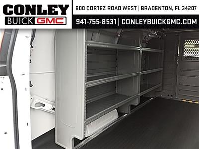 2019 Savana 2500 4x2,  Adrian Steel Commercial Shelving Upfitted Cargo Van #GK212250 - photo 9
