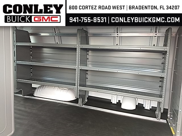 2019 Savana 2500 4x2,  Adrian Steel Commercial Shelving Upfitted Cargo Van #GK215871 - photo 11