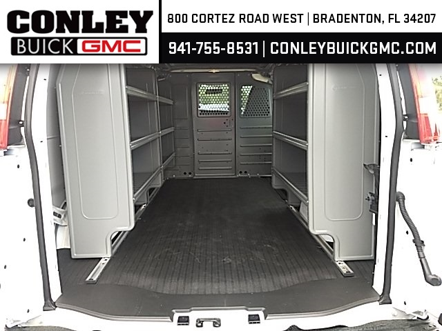 2019 Savana 2500 4x2,  Adrian Steel Commercial Shelving Upfitted Cargo Van #GK215871 - photo 2