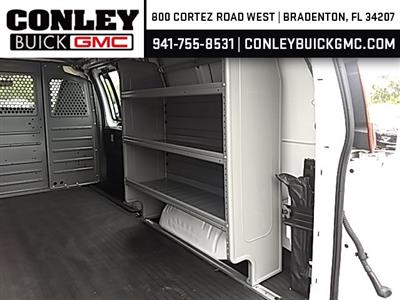2019 Savana 2500 4x2,  Adrian Steel Commercial Shelving Upfitted Cargo Van #GK215871 - photo 9