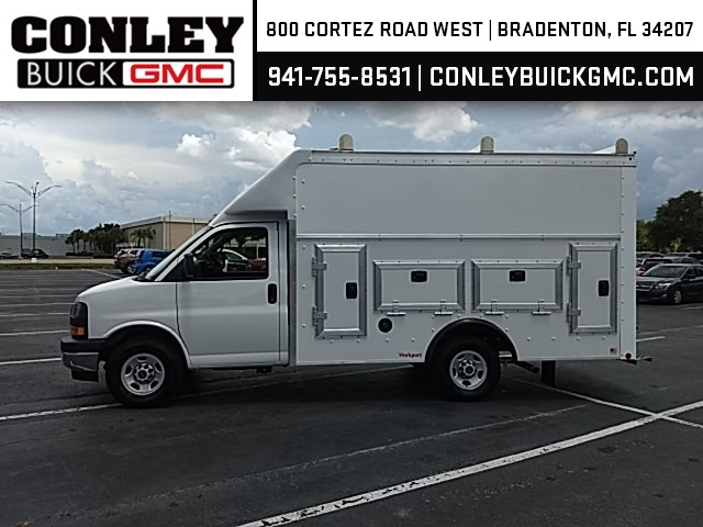 2019 Savana 3500 4x2, Rockport Workport Service Utility Van #GK220248 - photo 3