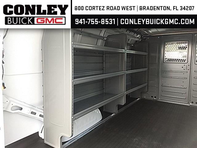 2020 Savana 2500 4x2,  Adrian Steel Commercial Shelving Upfitted Cargo Van #GL123642 - photo 10