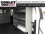 2020 Savana 2500 4x2,  Adrian Steel Base Shelving Upfitted Cargo Van #GL124889 - photo 9
