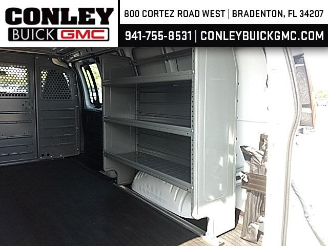 2020 Savana 2500 4x2,  Adrian Steel Commercial Shelving Upfitted Cargo Van #GL126426 - photo 9