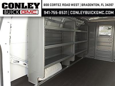 2020 Savana 2500 4x2,  Adrian Steel Commercial Shelving Upfitted Cargo Van #GL126426 - photo 10