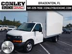 2020 GMC Savana 3500 4x2, J&B Truck Body Cutaway Van #GL187181 - photo 1