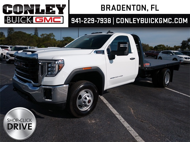 2020 GMC Sierra 3500 Regular Cab 4x4, CM Truck Beds Platform Body #GL267881 - photo 1