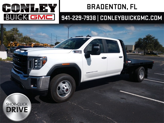 2020 GMC Sierra 3500 Crew Cab 4x2, CM Truck Beds RD Model Platform Body #GL276209 - photo 1