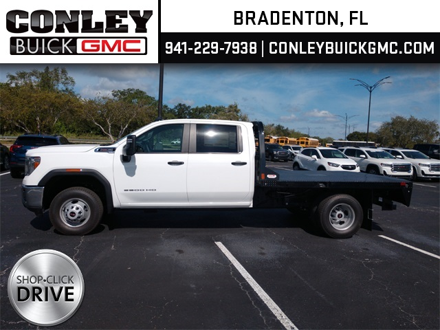 2020 GMC Sierra 3500 Crew Cab 4x2, CM Truck Beds Platform Body #GL276209 - photo 1