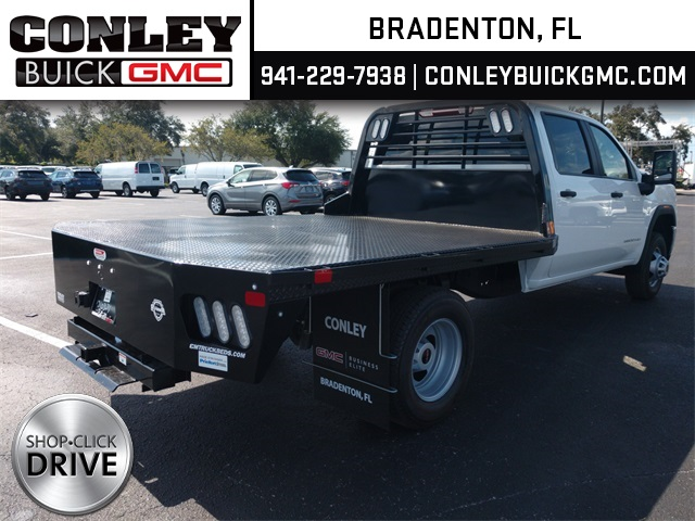 2020 GMC Sierra 3500 Crew Cab 4x2, CM Truck Beds RD Model Platform Body #GL276209 - photo 7