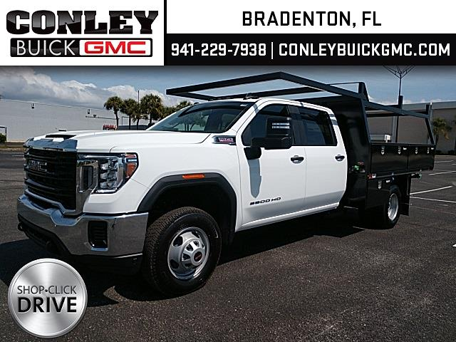 2021 GMC Sierra 3500 Crew Cab 4x4, Action Fabrication Contractor Body #GM162027 - photo 1