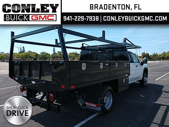 2021 GMC Sierra 3500 Crew Cab 4x4, Action Fabrication Contractor Body #GM162027 - photo 2