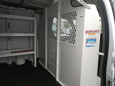 2021 GMC Savana 2500 4x2, Weather Guard Upfitted Cargo Van #GM165549 - photo 8