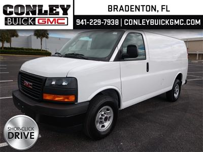 2021 GMC Savana 2500 4x2, Ranger Design Contractor Upfitted Cargo Van #GM183913 - photo 1