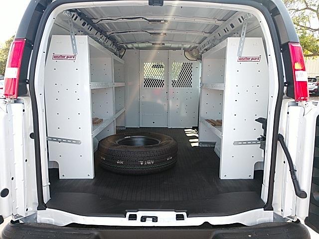 2021 GMC Savana 2500 4x2, Weather Guard Upfitted Cargo Van #GM196337 - photo 1