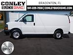 2021 GMC Savana 2500 4x2, Weather Guard Upfitted Cargo Van #GM196656 - photo 4