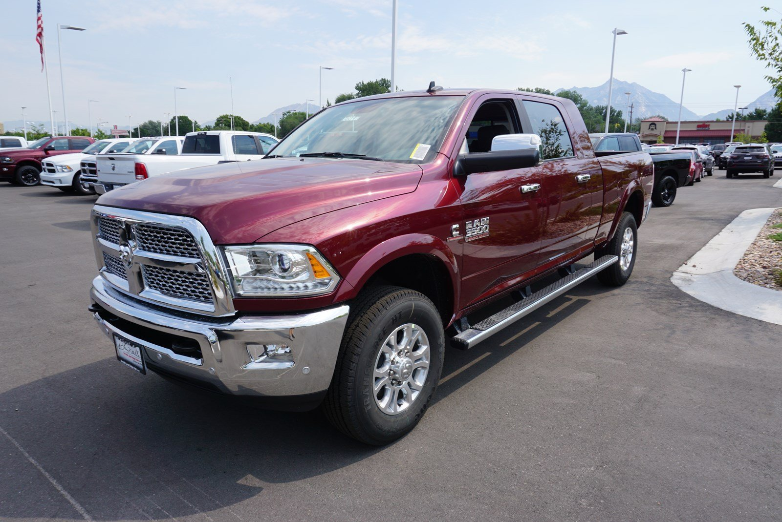 2017 Ram 3500 Mega Cab 4x4 Pickup #38197 - photo 4