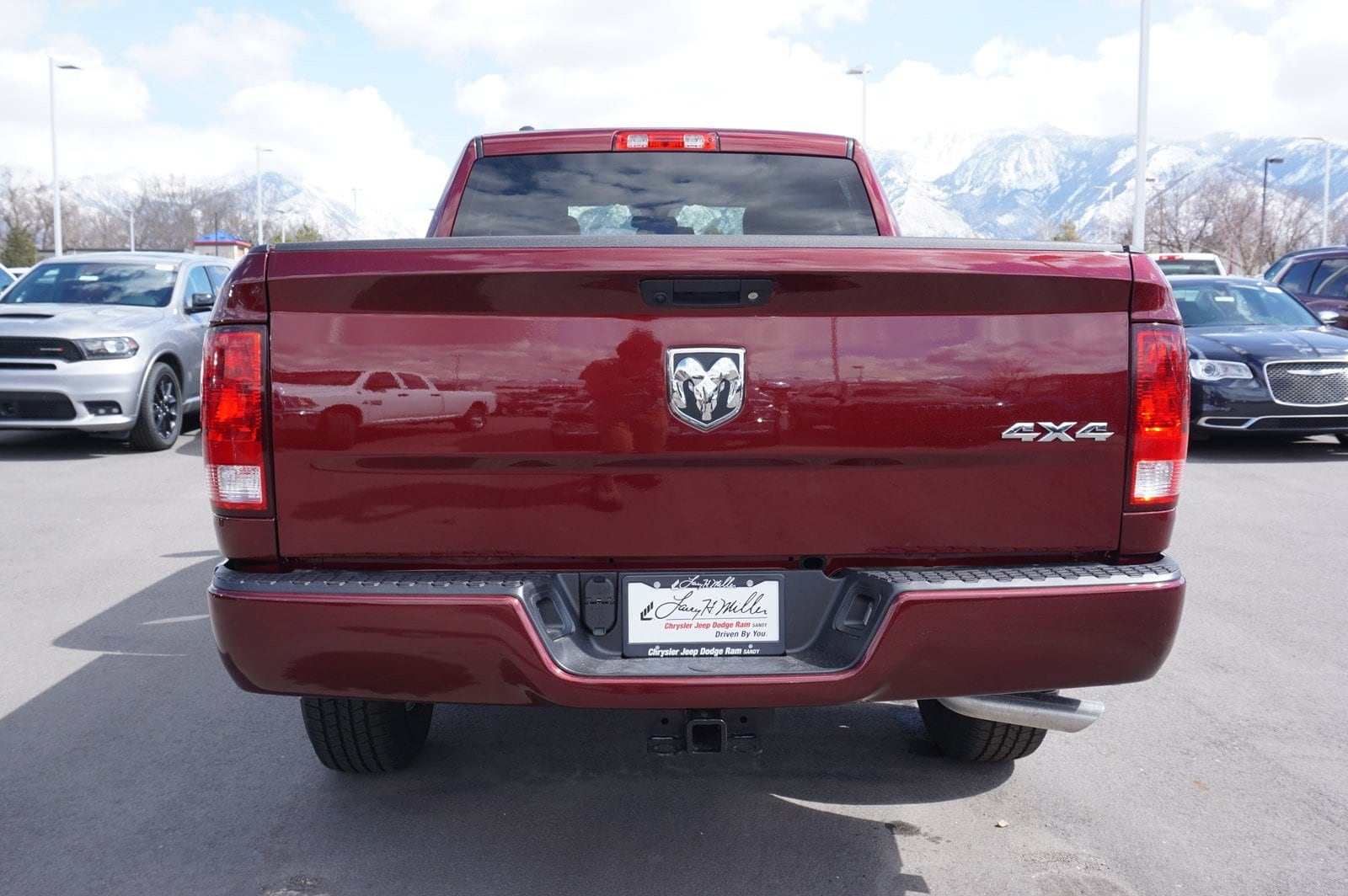 2018 Ram 1500 Quad Cab 4x4, Pickup #47465 - photo 8
