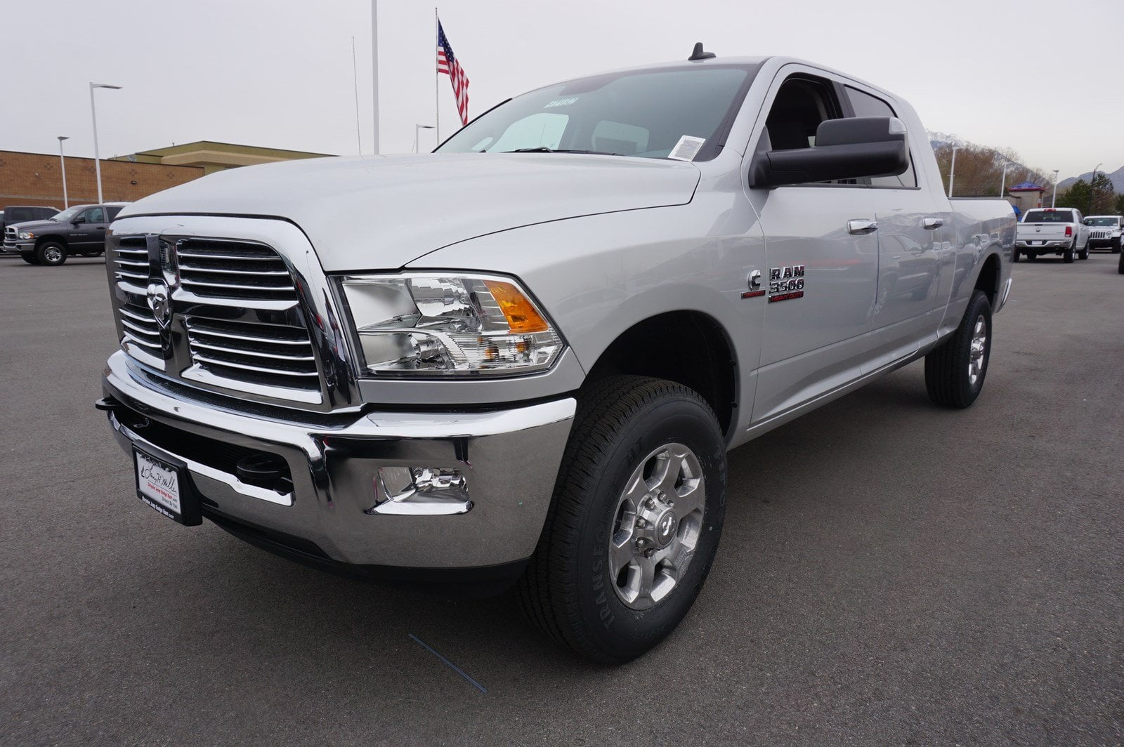 2018 Ram 3500 Mega Cab 4x4, Pickup #47482 - photo 4