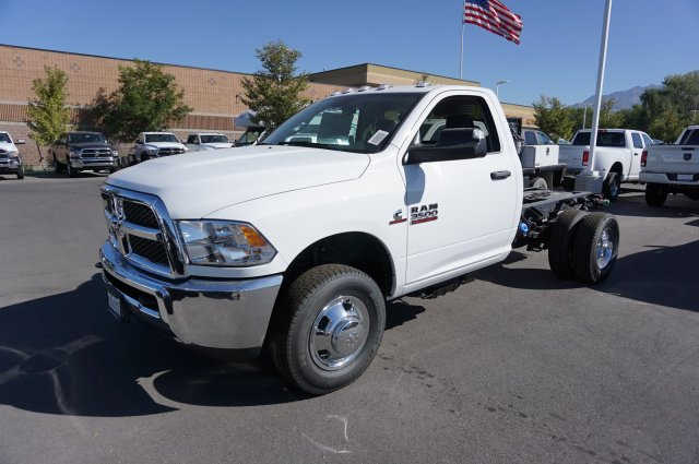 2018 Ram 3500 Regular Cab DRW 4x4,  Cab Chassis #47969 - photo 4