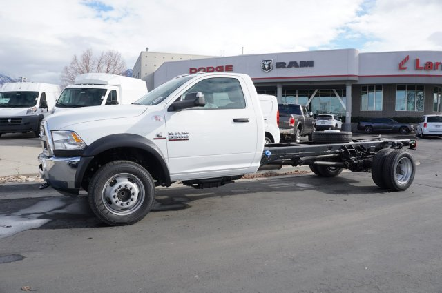 2018 Ram 5500 Regular Cab DRW 4x2,  Cab Chassis #48261 - photo 5
