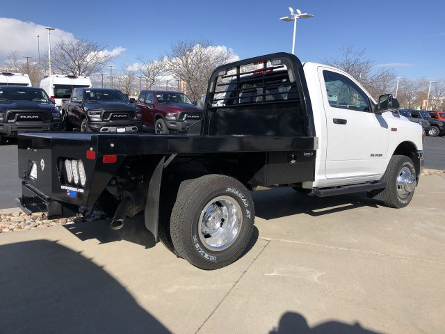 2019 Ram 3500 Regular Cab DRW 4x4, CM Truck Beds Platform Body #58141 - photo 1