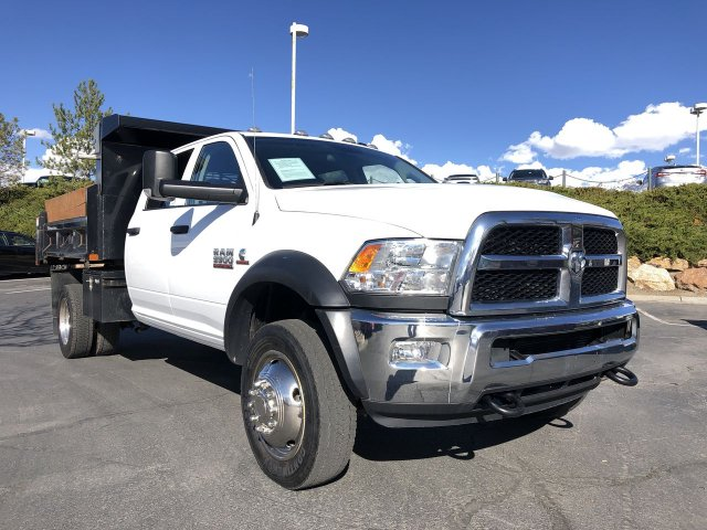 2018 Ram 5500 Crew Cab DRW 4x4, Rugby Dump Body #D10635 - photo 1