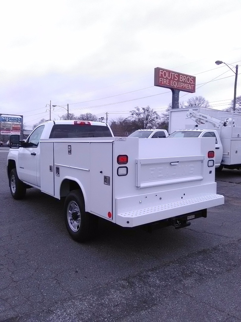 2017 Silverado 2500 Regular Cab 4x2,  Reading SL Service Body #7963 - photo 1