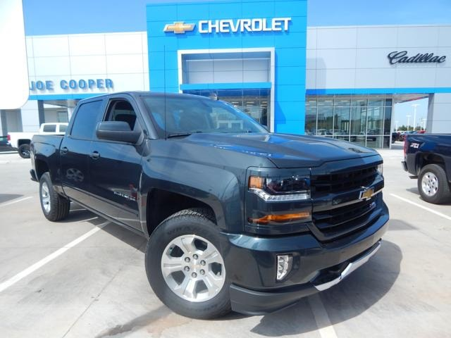 2018 Silverado 1500 Crew Cab 4x4 Pickup #JG117770 - photo 1